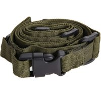 104*3cm  Tactical 3 Point Rifle Sling Quick Release Adjustable Bungee Sling Swivels Airsoft Hunting Gun Strap Metal Hook