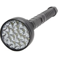 30000LM 21x  XM-L T6 LED Flashlight Waterproof 5 Modes Led Camping Torch Hunting Lamp For 18650 Dual Slot Battery Chargers