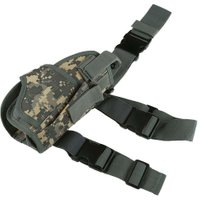 Tactical Military Hunting W/ Mag Pouch Right Hand  Hunting Gun Holsters 6Colors Hot Sale EA14